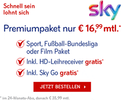 Sky Partnerprogramm
